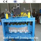 Rolo automático do assoalho da plataforma que dá forma à máquina