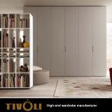 販売Tivo-0048hwのための大きいワードローブのキャビネットの黒の戸棚の家具