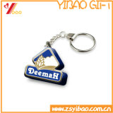 Número Keychain do metal/presente da lembrança do logotipo Keyhold Customed do Keyring/(YB-HD-186)