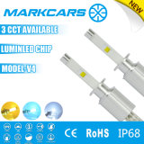 Markcars自動LEDのヘッドライトの球根のオートバイおよび車LEDのヘッドライト