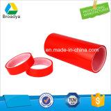 Nastro adesivo rosso del poliestere/animale domestico della fodera 100micron della pellicola di alta qualità (BY6982R)
