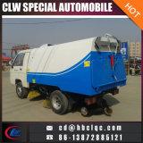 Mini camion de balayeuse de route de camion de nettoyeur de la poussière 1000L