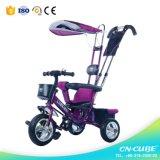 Wahl 4 des Mutter in 1 Multifunktionsbaby-Dreiradbaby-Spaziergänger-Großverkauf