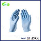 Medizinische Wegwerfprüfungs-Masse-Nitril-Handschuhe