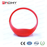 MIFARE Ultralight C Red RFID Silicon Wristband en forme de montre