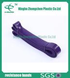 Faixa de borracha da aptidão do látex do treinamento flexível macio da amostra livre
