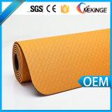 Couvre-tapis fait sur commande de yoga de bande d'étiquette de qualité/couvre-tapis d'exercice