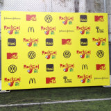 Support de fond réglable Stand Photo Portable Backdrop with Banner