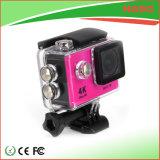 De roze Brede Hoek gaat de Onderwater PRO4k Camera van de Sport