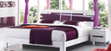 New Elegant Design High Gloss Lacquered Modern Bedroom Set (HC217)