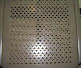 Maillot métallique perforé, perçage pour la décoration