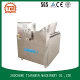 Alimento de temperatura controlada Stirring automático de la fábrica que fríe la máquina y las patatas fritas