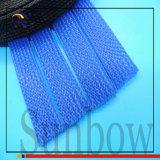 Полиэфира UL Sunbow Sleeving цветастого расширяемый