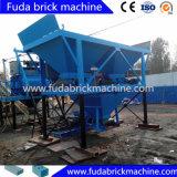 Bloque que se enclavija concreto automático completo de tamaño mediano que hace la máquina