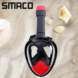 Smaco 180 Volledig Regelbaar Gezicht ademt vrij het MistVrij duiken van het Silicone Zwemmend snorkelt Masker