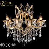 Heißer Verkaufs-goldenes Kristallleuchter-Luxuxlicht