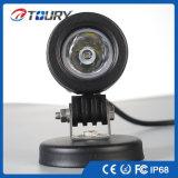 10W 12V impermeable del CREE LED lámpara del trabajo para la pista
