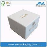 El cartón blanco estampado de lámina de oro de la Copa taza de café rígido Embalaje Caja de regalo