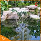 Indicatore luminoso solare chiaro di galleggiamento solare dello stagno della pompa ad acqua della fontana del raggruppamento