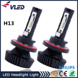 farol do diodo emissor de luz do carro da Philips do bulbo de 12-24V 9000lm Hi/Lo H13