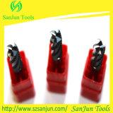 Taglierina di macinazione del laminatoio di estremità del carburo degli strumenti