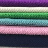 Tela de las lanas de la tela cruzada para el sobretodo Greige listo