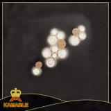 Indicatore luminoso di lusso della parete di vetro dell'hotel di stile (KAW17-070)