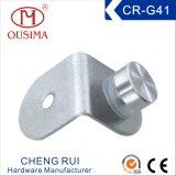 ステンレス鋼単一のノブ(CR-G41)が付いている90度のガラスクランプ