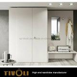 白く高く薄いワードローブのキャビネットの寝室の家具Tivo-0045hw