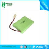 Pacchetto della batteria dell'OEM del pacchetto 4.8V 800mAh AAA della batteria dello Li-ione della batteria di NiMH
