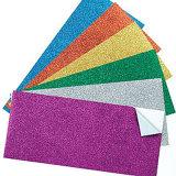 Farbiges selbstklebendes Funkeln-Papier der Größen-A4 für das In Handarbeit machen