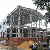Graneros de acero de poste del metal prefabricado de dos pisos para la venta