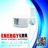 Ajuste infravermelho do sensor do movimento PIR cabido para lâmpadas