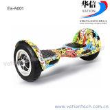 Ce/RoHS/FCC 2 Wheel auto equilibrio eléctrico de 10 pulgadas, E-Scooter Scooter