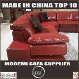 أحمر [أو] شكل يربط جلد أريكة ([لز129])