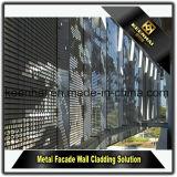 Самомоднейшие изготовленные панели фасада алюминиевого листа Perforated для плакирования стены