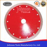 Gesinterde TurboBladen van de Zaag 180mm voor het Knipsel van het Graniet