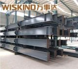 Magazzino prefabbricato e gruppo di lavoro della struttura d'acciaio