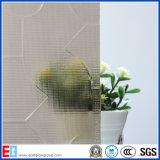 공간 또는 청동 또는 회색 녹색 또는 파란 또는 호박색 Puzzle&Karatachi 장식무늬가 든 유리 제품 또는 계산된 유리