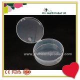 recipiente di plastica rotondo su ordinazione di immagazzinamento in la casella di memoria di 27mm x di 88mm