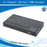 Anti SIM Blok GoIP 32-128, AutoSIM Verandering 32 Kanaal 128 van de Omwenteling IMEI de Gateway van GoIP van de Haven