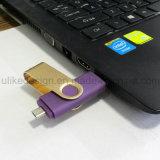 3.0 Venta caliente de alta velocidad de destello del USB del eslabón giratorio OTG (3.0 UL-OTGP03)
