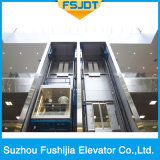 Low Noise Panoranic Elevator Lift avec vue complète Glass Sightseeing From Fushijia Brand