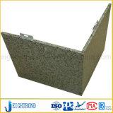 特別な形の石の穀物の壁のクラッディングのためのアルミニウム蜜蜂の巣のパネル