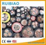 Tiefbaukabel-Stahldraht/Typ gepanzertes kupfernes Aufbau-Hebevorrichtung-Energien-Kabel