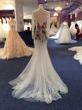Vestido de noite da sereia para Wedding com Appliques