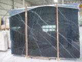 도와 싱크대 또는 허영 상단 또는 벽을%s Nero 까만 Marquina 대리석 석판 도와