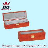 Contenitore di monili di legno del contenitore di regalo