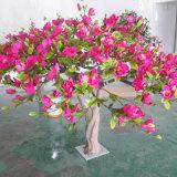 Arbre artificiel de fleurs artificielles en intérieur pour décoration d'hôtel