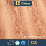 il legname di 8.3mm ha impresso la pavimentazione laminata laminata di legno di legno della noce